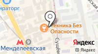 ЭФИ на карте