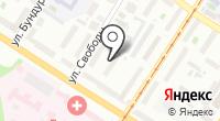 МТДС на карте