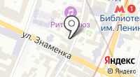 Фиорд на карте