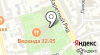 Сад Эрмитаж на карте