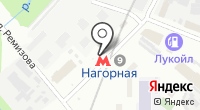Станция Нагорная на карте