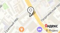 Центральный Телеграф на карте