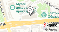 Центр организации дорожного движения на карте