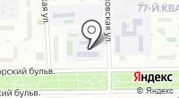 Специальная (коррекционная) общеобразовательная школа №567 на карте