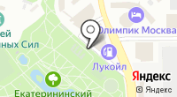 Екатерининский на карте