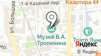 Музей В.А. Тропинина и московских художников его времени на карте