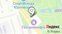 Юрловский проезд на карте