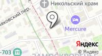 Прокуратура г. Москвы на карте