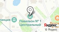 Москва-850 на карте