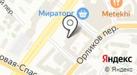 Территориальное Управление Федерального агентства по управлению государственным имуществом в г. Москве на карте