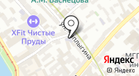 Московский театральный колледж на карте