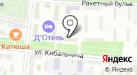 Узбекские авиалинии на карте
