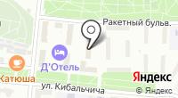 Русский подарок на карте