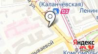 Мосжелдорпроект на карте