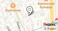 Азюр на карте