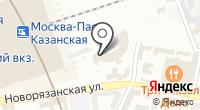 Московско-Рязанская транспортная прокуратура на карте