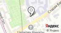 Главный информационно-вычислительный центр на карте