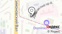 Аквамарин на карте