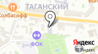 Таганский на карте