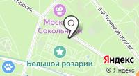 Большой Розарий в Сокольниках на карте