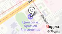Олимпийский центр им. братьев Знаменских на карте
