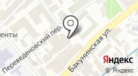 Проект Фабрика на карте