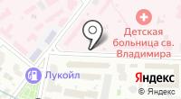 Детская городская клиническая больница святого Владимира на карте