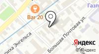 СКВИД-М на карте