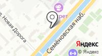 РэдКаско на карте