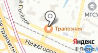 Алтайская здравница на карте