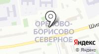 Орехово-Борисово Северное на карте