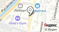 Добрынинский на карте