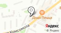 Альянс-отель Видное на карте