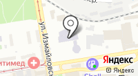 Геолуч на карте