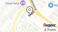 Космея на карте