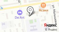 АЕ центр на карте