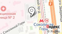 Комиссионная мебель на карте
