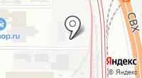 Аттента на карте
