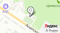 Газораспределительная станция на карте