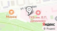 Городская клиническая больница №68 на карте