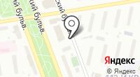 Автостоянка на Юных Ленинцев на карте