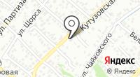 Сауна на Кутузовской на карте