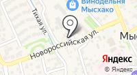 Баня-сауна на Центральной на карте