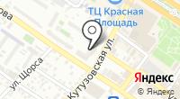 Черноморо-Азовская территориальная организация на карте