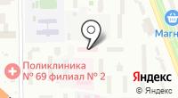 Центральная клиническая больница №4 на карте