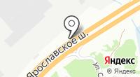 АЗС Исткор-М на карте