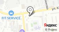 Магазин строительно-отделочных материалов и инструмента на карте