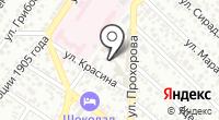 Новмортранс на карте