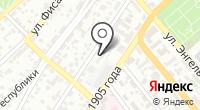 Новороссийский рабочий на карте