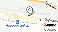 Линейный отдел полиции на ст. Новороссийск на карте
